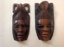 Vintage African Carved Wooden Mask Circ. 1960/70's
