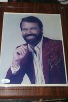 Glen Campbell JSA Coa Signed 8x10 Photo Autograph