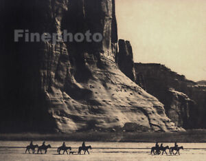 1900/72 EDWARD CURTIS Folio NATIVE AMERICAN INDIAN Canyon De Chelly Photo Art