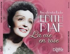 EDITH PIAF : LA VIE EN ROSE / 3 CD-SET - TOP-ZUSTAND