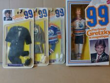 1980's Mattel Wayne Gretzky Doll  with  3  Costumes  Tux  Sweat suit  &  Uniform