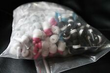 Lot of 50 Mixed Candy Color 3.5mm In-ear Earbuds / Headphones - Great for Kids!