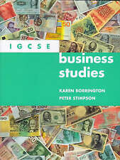 Igcse Business Studies Pb (International Gcse Syllabus), Peter Stimpson,Karen Bo
