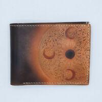 [NEW] Handmade Men's Full Grain Leather Bifold Wallet