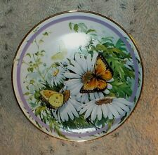Orange Sulphur butterfly plate, Paul J. Sweany, Hamilton Collection