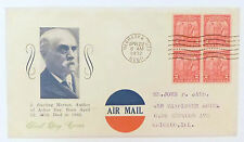 US FDC - #717 (x4) - Arbor Day - Stoutzenberg - Nebraska City, NB -4/22/32 - VF