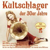KULTSCHLAGER DER 30ER JAHRE  2 CD NEU