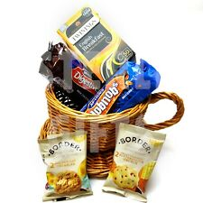 TEA & BISCUITS - Tea Cup Hamper - Twinings Tea, Chocolate Biscuits - XMAS GIFT