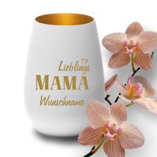 """Deko-Windlicht """"Lieblings-Mama"""" mit Wunschnamen Geschenk Muttertag Geburtstag"""