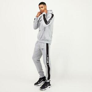 Mens Amity London Azon Grey Marl Fleece Suit (ALA1) RRP £59.99