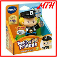 Toot Toot Friends Police Officer Wayne VTech Interactive Talking Figure - NEW