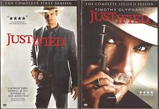 Justified Season 1 & 2 - DVD TV Shows First Second BRAND NEW