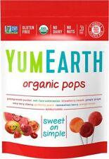 Yum Earth Organic Pops 14 Lolly Bag 85g (Pack of 6)