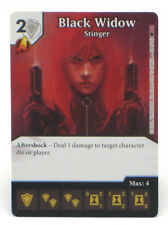 Dice Masters Marvel Knights Black Widow Limited Edition Prize Card Op Kit New