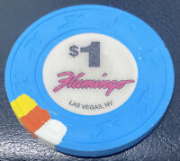 $1 chip Flamingo Casino Las Vegas NV Nevada - Spotted Paulson H&C Hat And Cane