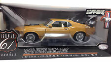 "HIGHWAY HWY 61 1970 FORD MUSTANG CJ 428 ""R"" CODE SCJ DIECAST SCALE 1:18"