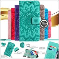 Etui Coque housse SUNFLOWER Cuir PU Leather Case Samsung Galaxy Collection  Film