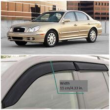 HE21498 Window Visors Guard Vent Wide Deflectors For Hyundai Sonata 1998-2004