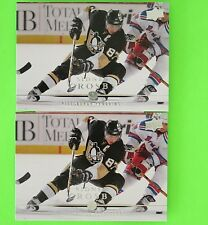 (Lot of 2) SIDNEY CROSBY 2008-09 UPPER DECK  42 Pittsburgh Penguins bf3ec2bd0