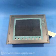 "Siemens 6Av6 647-0Af11-3Ax0 Basic Color Panel, 10"" Tft Display Usip"