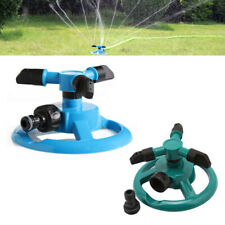 360°Rotating Lawn Sprinkler Automatic Watering Sprayer System For Garden Hose