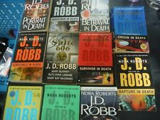 Nora Roberts & J.D. Robb Collection of 24 Books - Futuristic Romantic Suspense