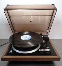 Plattenspieler vollautomatik Turntable Dual 1236 record player Klappschiebehaube
