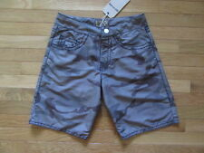 TRUE RELIGION RICKY BIG T BOARD SHORTS, OLIVE CAMO PRINT, NWT $118, 28