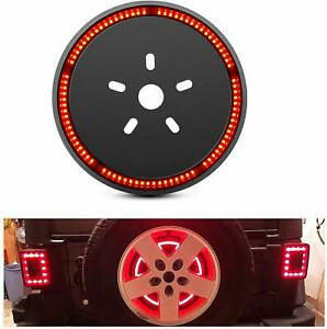 Nilight Spare Tire Brake Light Wheel Light 3rd Light for Jeep Wrangler JK JKU YJ