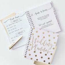 Ginger Ray Luxury Pink & Gold Wedding Planner Book Diary Organiser GO-155