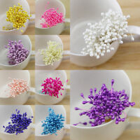 Multicolor Manual Flowers Stamens Artificial Decoration Beads Accessories Resin