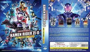 LIVE ACTION DVD~Kamen Rider Zi-O(1-49End+4 Movie)English subtitle&All region