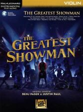 The Greatest Showman for Violin Instrumental Play-Along Sheet Music Book/Audio