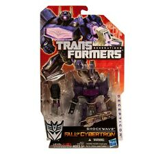 Transformers Fall of Cybertron SHOCKWAVE Decepticon Generations Video Game Toy