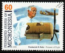 Fred Rohr & WWII CONSOLIDATED B-24 LIBERATOR Bomber Aircraft Stamp