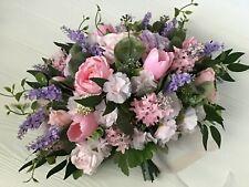 Pink lavender bridal bouquet set, bridal bouquet package, spring summer bouquet