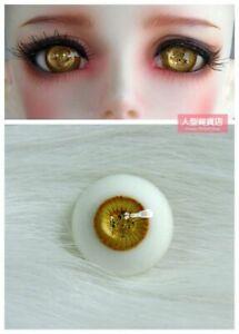 12mm Resin Eyes For 1/3 1/4 1/6 BJD Doll Doll Dollfie Handmade Human iris eyes