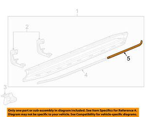 GM OEM Running Board Step-Insert Right 22922427