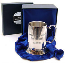 More details for mens pint beer tankard luxury box quality 16oz ale gift superb value engraved