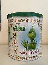 Illumination Presents Dr Suess' The Grinch Christmas Gift Pop Metal Container