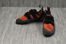 Climb X Rave Strap Climbing Shoes, Men's 5/Women's 6.5, Orange/Black