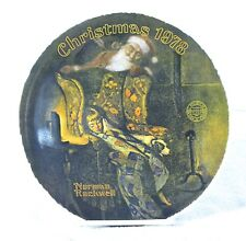 Knowles Norman Rockwell Bradford Exchange Collectable Plates Christmas Dream 943