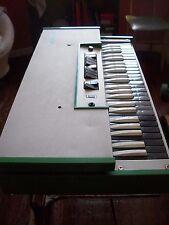 rare vtg 60s 70s farfisa compact fast 3 organ WORKING  orgel