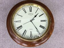 Smith Enfield Clock. Wooden surround. Made in England. Vintage clock.