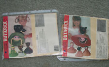 2 Reversible Story Book Patterns For Little Red Riding Hoood & Goldylocks And Th