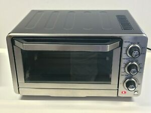 Cuisinart Custom Classic Toaster Oven Broiler TOB-40N B W | No accessories