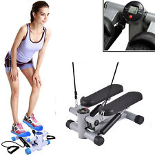 Exercise Stepper AEROBIC Fitness Stepper Ropes Workout W/ Workout Cord Arms Leg