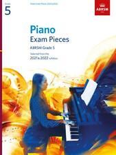 More details for abrsm piano exam pieces book only 2021-2022 grade 5