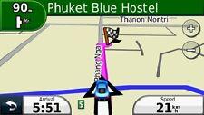 2018 Southeast Asia car navigation map set for Garmin GPS on MicroSD or SD card
