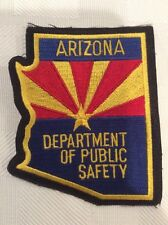 Arizona Department of Public Safety Police Patch -- UNUSED
